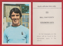 Coventry City Bill Rafferty